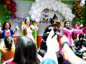 Animadores magos y payasos comuniones en Zaragoza