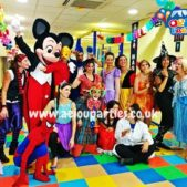 Kids birthday party supplies in Birmingham entertainers