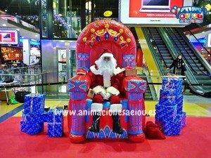 Contratar la visita de Papá Noel a domicilio en Zaragoza