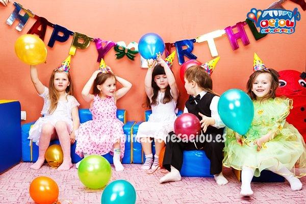 animadores para fiestas de cumpleaños infantiles Zaragoza