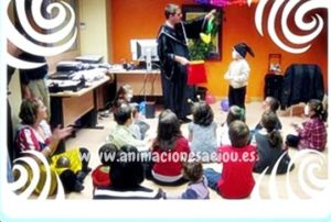 Actuación de mago para fiestas infantiles en Zaragoza