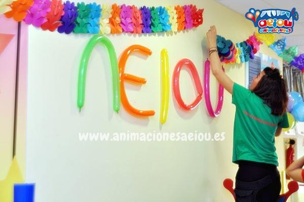 Decoración de fiestas infantiles en Zaragoza