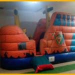 Barco Pirata 6 x 3,5 x 3,5 m