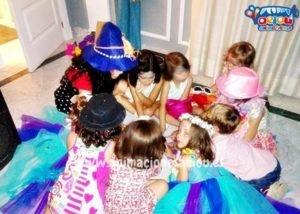 Animación para fiestas temáticas infantiles Frozen en Zaragoza