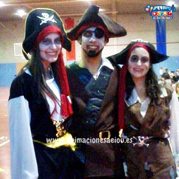 Toda clase de juegos en fiestas de Piratas en Zaragoza