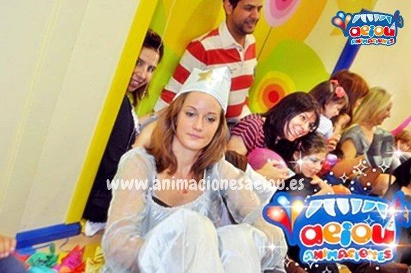Fiestas de cumpleaños infantiles temáticas de princesas en Zaragoza