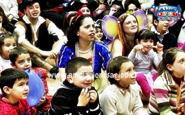 Animadores de cumpleaños infantiles temáticos de princesas en Zaragoza