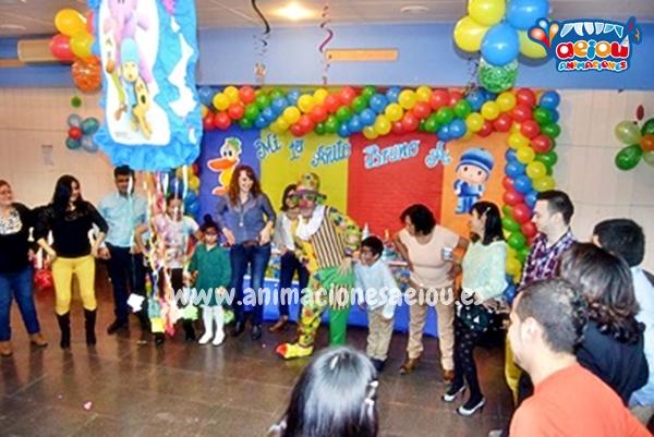 Animaciones para fiestas de cumpleaños infantiles y comuniones en Caspe